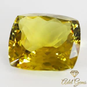 Tourmaline Jaune 6,8 ct naturelle non traitée de Madagascar