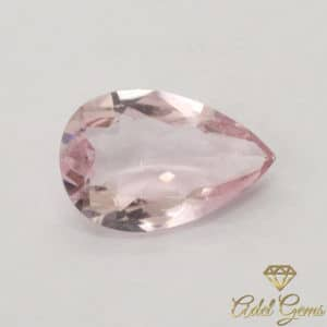 Morganite 1,30 ct naturelle non chauffée de Madagascar