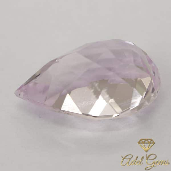 Morganite 6,90 ct Naturelle non chauffée de Madagascar