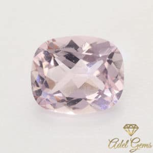 Morganite 1,80 ct Naturelle non chauffée de Madagascar