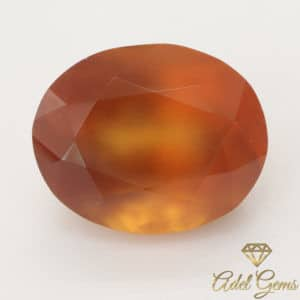 Grenat Hessonite 7,90 cts Naturel de Madagascar