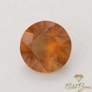 Grenat Hessonite 1,60 cts Naturel de Madagascar