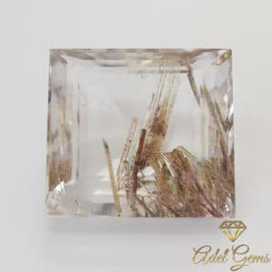 Quartz Rutile 47,70 cts Naturel de Madagascar